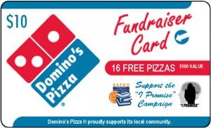 Domino's pizza card final $10